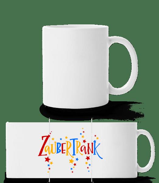 Zaubertrank - Panoramatasse - Weiß - Vorn