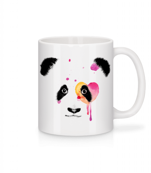 Watercolor Panda - Mug - White - Vorn