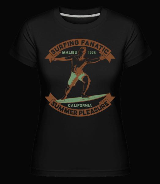 Surf Beach Summer Pleasure -  Shirtinator Women's T-Shirt - Black - Vorn