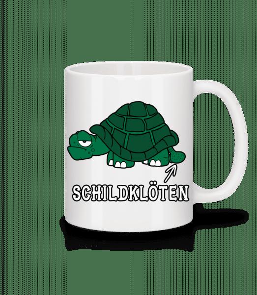 Schildklöten - Tasse - Weiß - Vorn