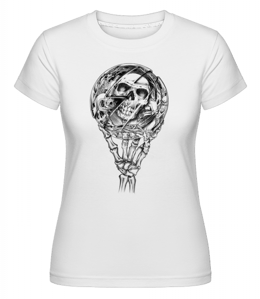 Mirror Dead -  Shirtinator Women's T-Shirt - White - Front