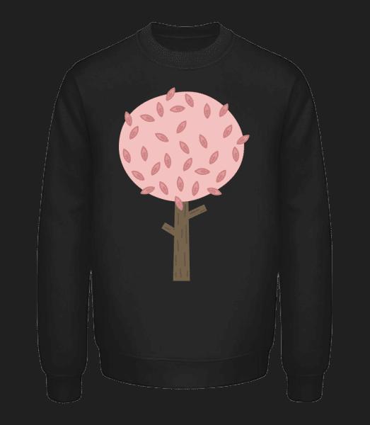 Herbst Baum - Unisex Pullover - Schwarz - Vorn