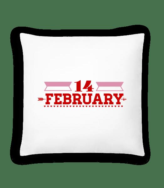 14 February Valentine - Cushion - White - Vorn