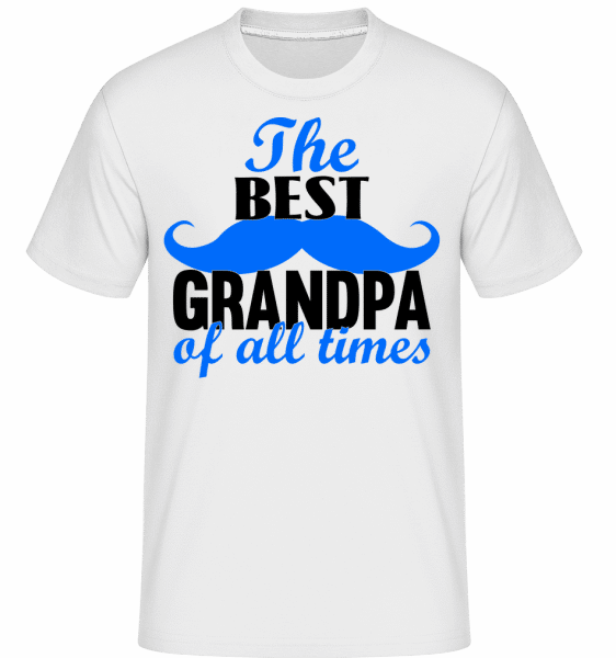 The Best Grandpa -  T-Shirt Shirtinator homme - Blanc - Vorn
