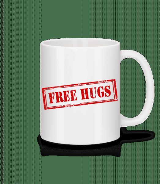 Free Hugs Sign - Mug - White - Front