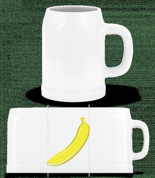 Banana - Beer Mug - White - Vorn