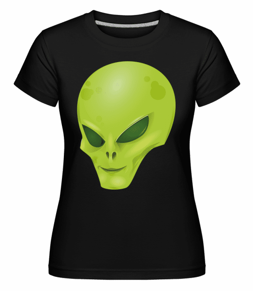 Alien Head -  Shirtinator Women's T-Shirt - Black - Vorn