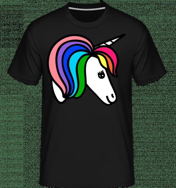 Unicorn Rainbow -  Shirtinator Men's T-Shirt - Black - Vorn