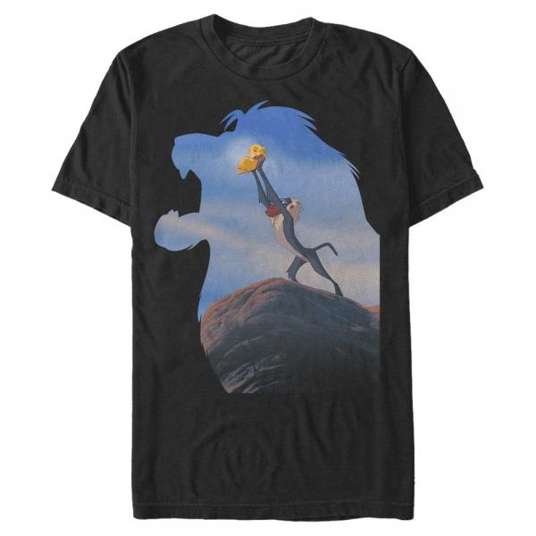 Choose Good Simba & Rafiki - Disney The Lion King - Men's T-Shirt - Black - Front
