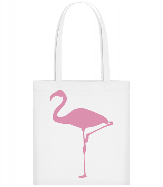 Flamingo - Carrier Bag - White - Vorn