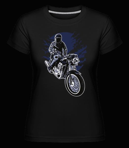Night Rider -  Shirtinator Women's T-Shirt - Black - Vorn