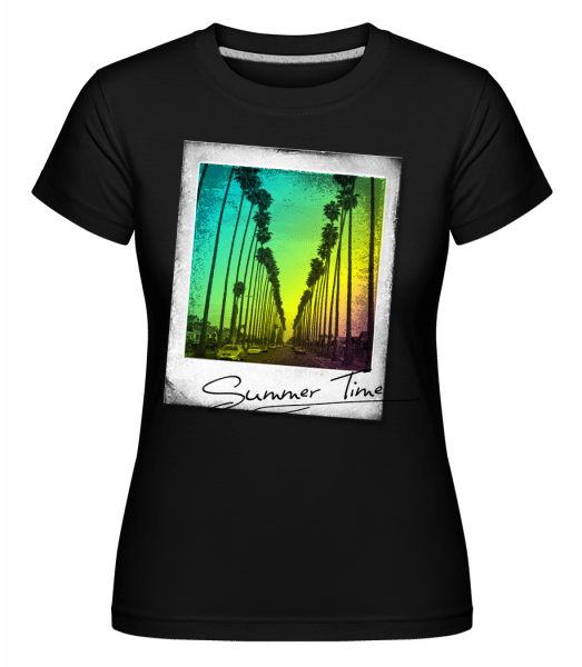 Summer Time -  Shirtinator Women's T-Shirt - Black - Vorn