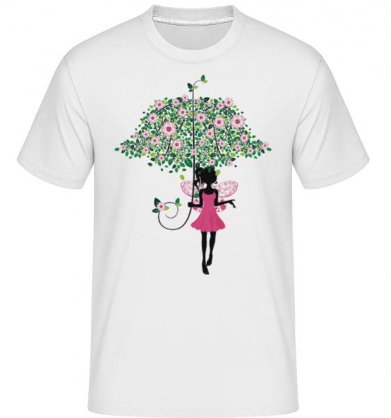 Flower Fairy -  Shirtinator Men's T-Shirt - White - Front