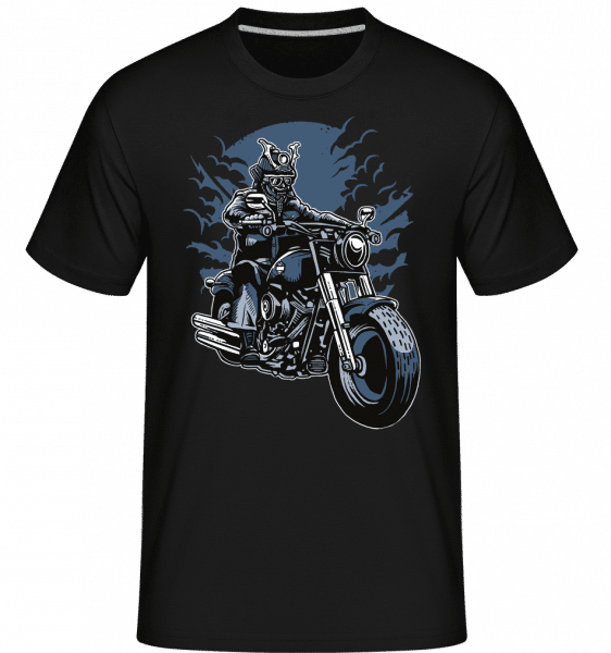 Samurai Ride -  T-Shirt Shirtinator homme - Noir - Vorn