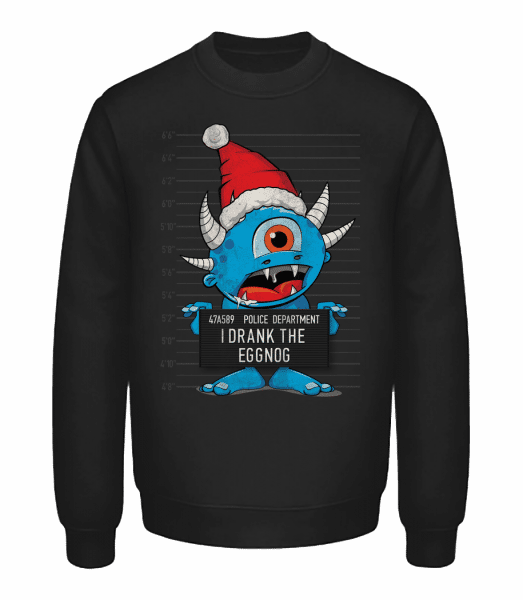 Monster Christmas Criminal Photo - Unisex Sweatshirt - Black - Vorn