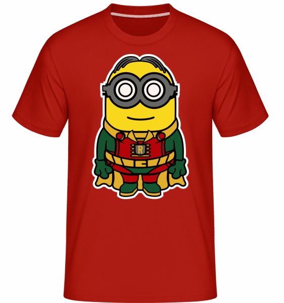 Minion Robin -  Shirtinator Men's T-Shirt - Red - Vorn