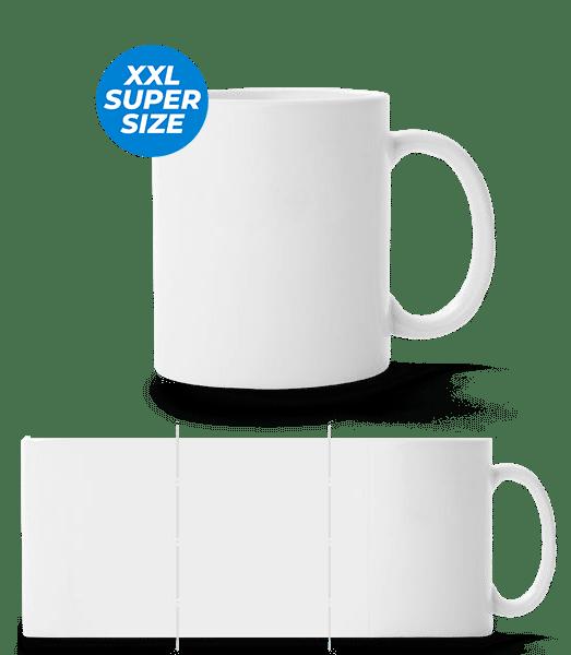 Large Mug - White - Front