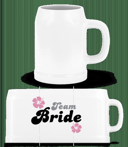 Team Bride - Beer Mug - White - Front