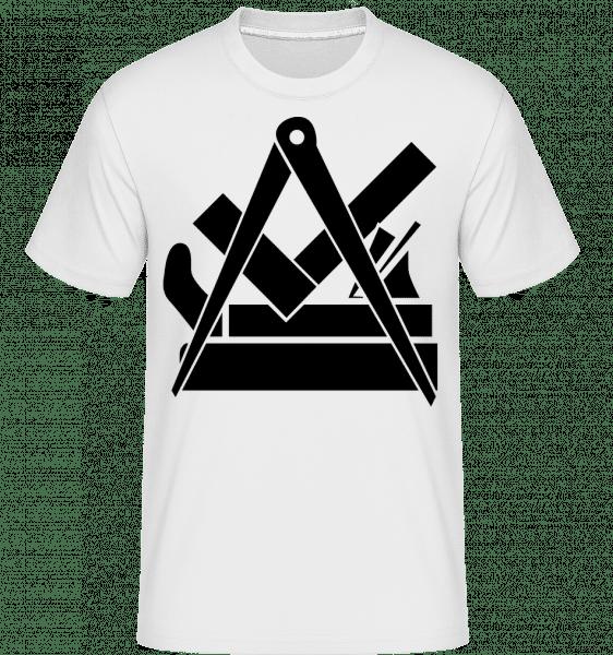 DIY Icon -  Shirtinator Men's T-Shirt - White - Vorn
