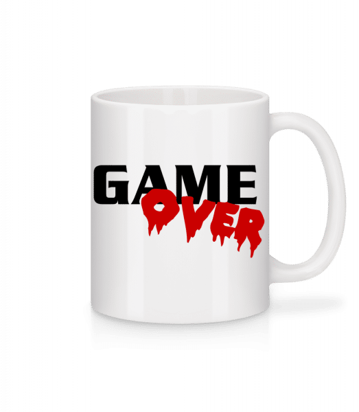 Game Over - Mug - White - Vorn