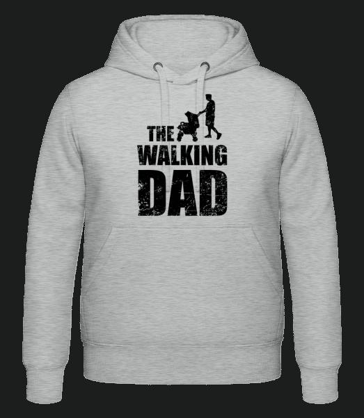 The Walking Dad - Hoodie - Heather Grey - Vorn