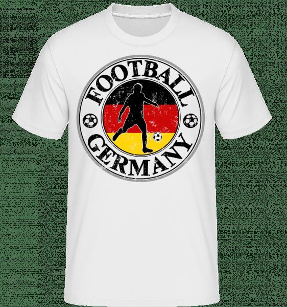 Fußball Deutschland - Shirtinator Männer T-Shirt - Weiß - Vorn