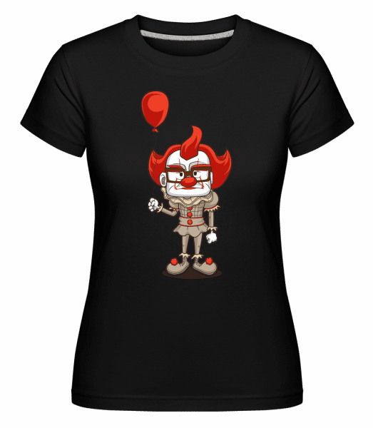 Nice Clown -  Shirtinator Women's T-Shirt - Black - Vorn