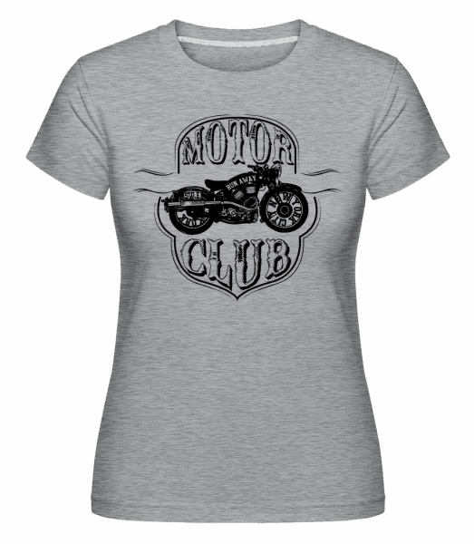 Motor Club Icon -  Shirtinator Women's T-Shirt - Heather grey - Vorn