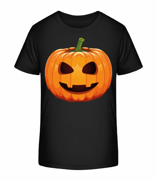 Laughing Pumpkin - Kid's Premium Bio T-Shirt - Black - Vorn