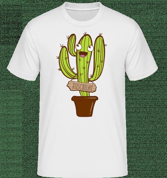 Kuscheln? - Shirtinator Männer T-Shirt - Weiß - Vorn