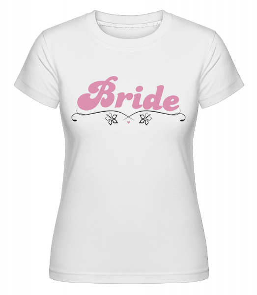 Bride -  Shirtinator Women's T-Shirt - White - Front
