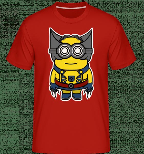 Minion Wolverin -  Shirtinator Men's T-Shirt - Red - Vorn