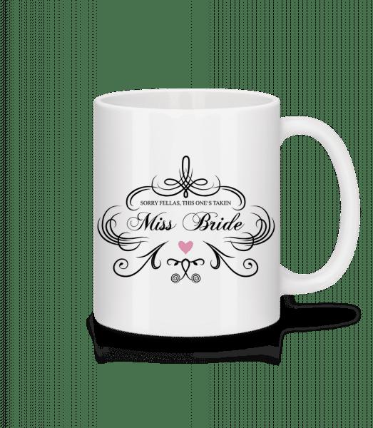 Miss Bride - Tasse - Weiß - Vorn