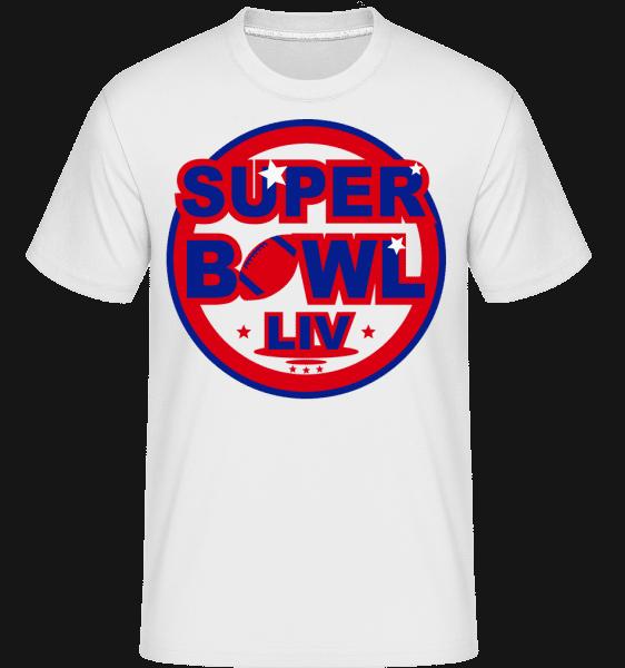 Super Bowl LIV -  Shirtinator Men's T-Shirt - White - Vorn
