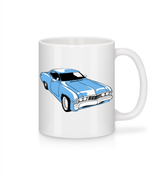 Car Comic - Mug - White - Vorn