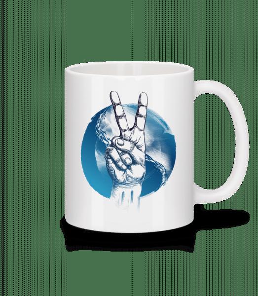 Ozean Peace - Tasse - Weiß - Vorn