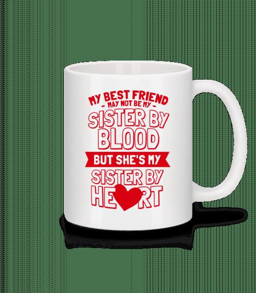 My Sister By Heart - Mug - White - Vorn