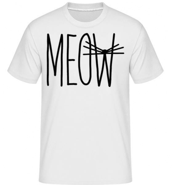 Meow 4 -  Shirtinator Men's T-Shirt - White - Front