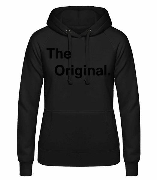 The Original - Women's hoodie - Black - Vorn