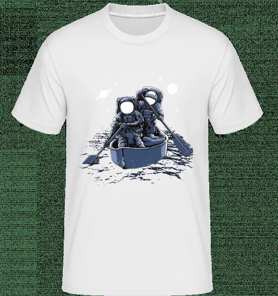 Across The Galaxy -  Shirtinator Men's T-Shirt - White - Front