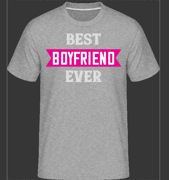 Best Boyfriend Ever -  Shirtinator Men's T-Shirt - Heather grey - Vorn