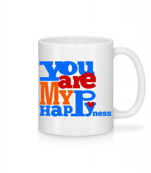 You Are My Happiness - Mug - White - Vorn