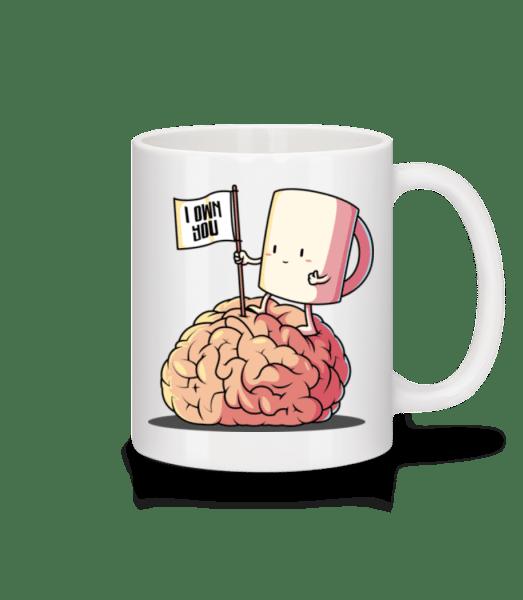 I Own You Coffee - Mug - White - Vorn
