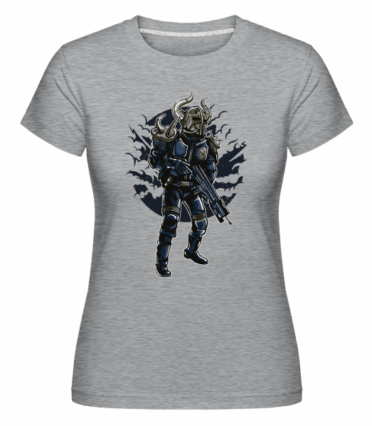 Viking Soldier -  Shirtinator Women's T-Shirt - Heather grey - Vorn