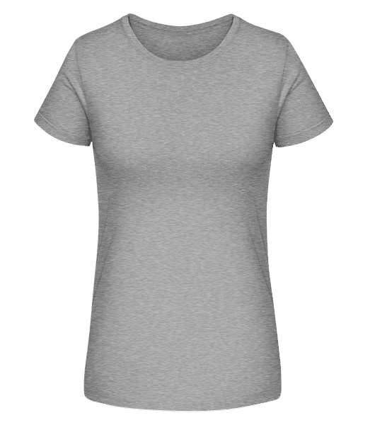 Women's Organic T-Shirt Stanley Stella - Heather grey - Vorn