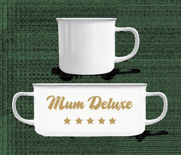 Mum Deluxe - Beige - Enamel-cup - White - Front