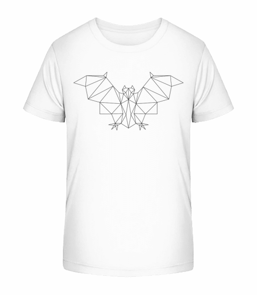 Polygon Bat - Kid's Premium Bio T-Shirt - White - Vorn