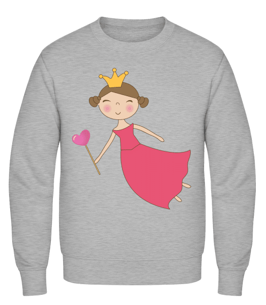 Fairy Kids Comic - Classic Set-In Sweatshirt - Heather Grey - Vorn