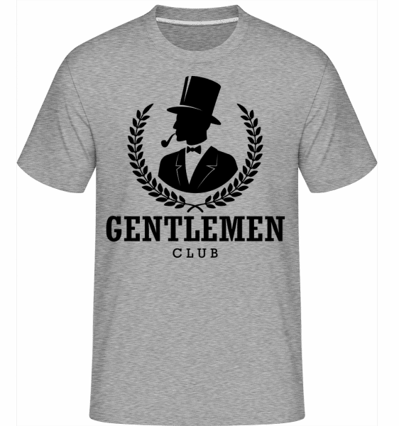 Gentlemen Club -  Shirtinator Men's T-Shirt - Heather grey - Vorn