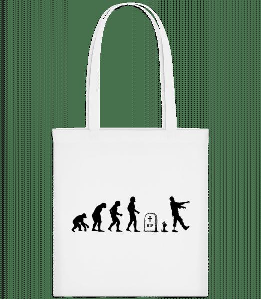 Halloween Evolution - Carrier Bag - White - Vorn